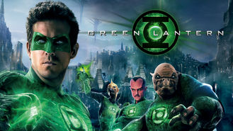 Netflix box art for Green Lantern