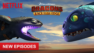 Netflix box art for Dragons: Race to the Edge - Season 4