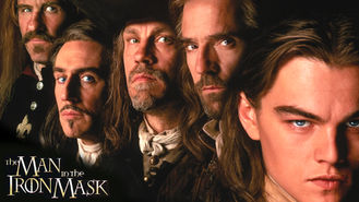 Netflix box art for The Man in the Iron Mask