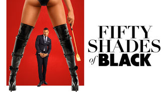 Netflix box art for Fifty Shades of Black