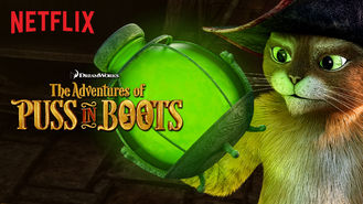 Netflix box art for The Adventures of Puss in Boots - Season 4