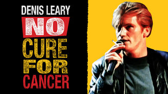 Netflix box art for Denis Leary: No Cure For Cancer