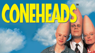 Netflix box art for Coneheads