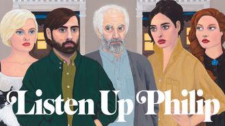 Netflix box art for Listen Up Philip
