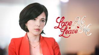Netflix box art for Love Me or Leave Me - Season 1
