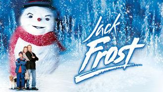 Netflix box art for Jack Frost