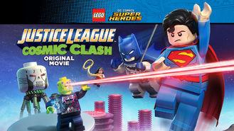 Netflix box art for Justice League: Cosmic Clash