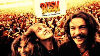 Netflix box art for Rush: Beyond the Lighted Stage