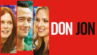 Netflix box art for Don Jon