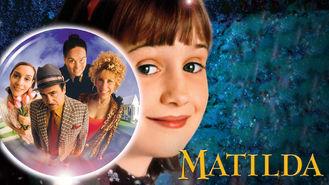 Netflix box art for Matilda