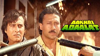 Netflix box art for Aakhri Adaalat