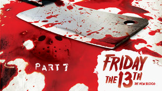 Netflix box art for Friday the 13th: Part 7: The New Blood