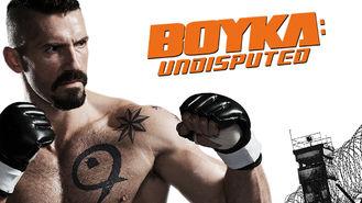 Netflix box art for Boyka: Undisputed
