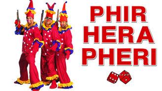 Netflix box art for Phir Hera Pheri