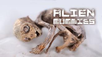 Netflix box art for Alien Mummies