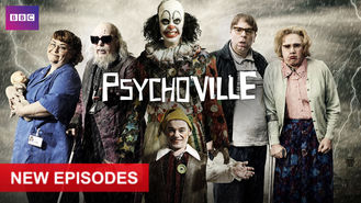 Netflix box art for Psychoville - Series 1