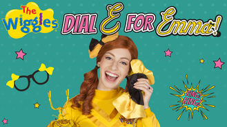 Netflix box art for The Wiggles: Dial E for Emma