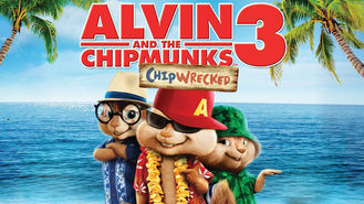 Netflix box art for Alvin and the Chipmunks: Chipwrecked