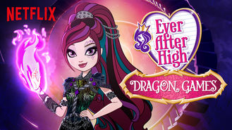 Netflix box art for Ever After High - Season Dragon Games