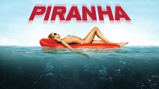 Netflix box art for Piranha