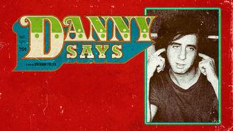 Netflix box art for Danny Says