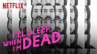 Netflix box art for I'll Sleep When I'm Dead