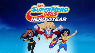 Netflix box art for DC Super Hero Girls: Hero of the Year