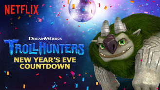 Netflix box art for Trollhunters: New Year's Eve Countdown