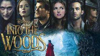 Netflix box art for Into the Woods