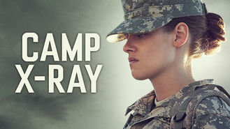 Netflix box art for Camp X-Ray