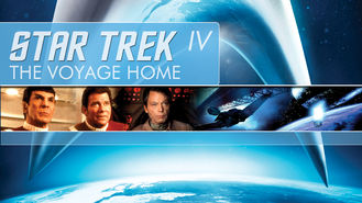 Netflix box art for Star Trek IV: The Voyage Home
