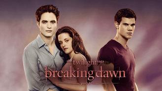 Netflix box art for The Twilight Saga: Breaking Dawn: Part 1