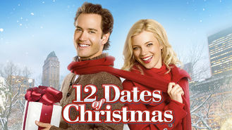 Netflix box art for 12 Dates of Christmas