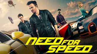 Netflix box art for Need for Speed