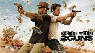 Netflix box art for 2 Guns