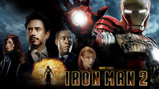 Netflix box art for Iron Man 2