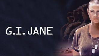 Netflix box art for G.I. Jane