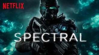 Netflix box art for Spectral