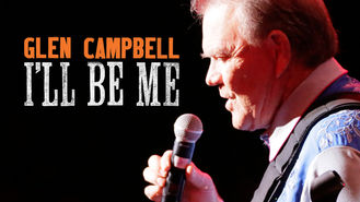 Netflix box art for Glen Campbell: I'll Be Me