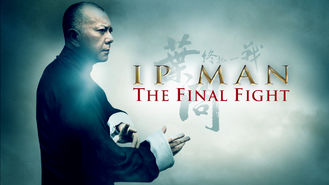 Netflix box art for Ip Man: The Final Fight
