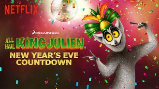 Netflix box art for All Hail King Julien: New Year's Eve...