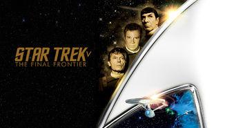 Netflix box art for Star Trek V: The Final Frontier