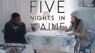 Netflix box art for Five Nights in Maine