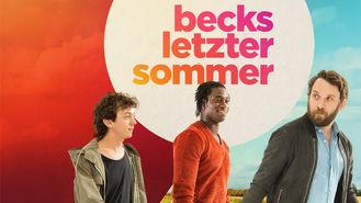 Netflix box art for Becks letzter Sommer