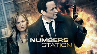 Netflix box art for The Numbers Station