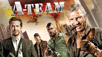Netflix box art for The A-Team