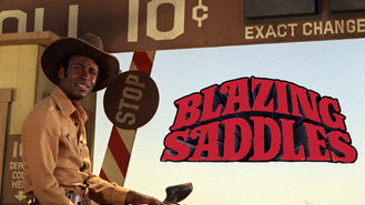 Is Blazing Saddles on Netflix?