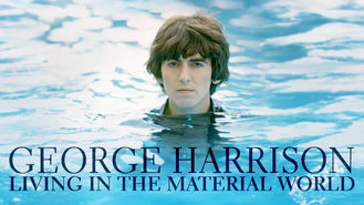 Netflix box art for George Harrison: Living in the Material...