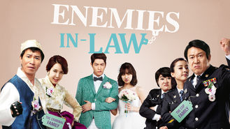 Netflix box art for Enemies In-Law