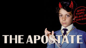 Netflix box art for El apóstata